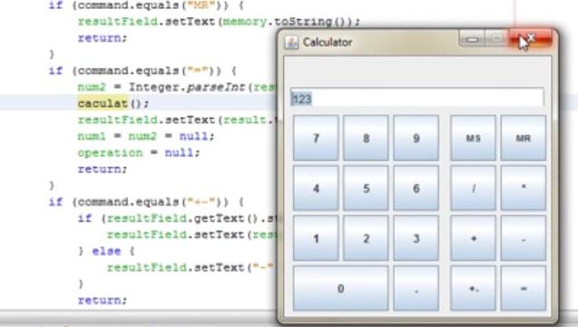 ایجاد یک ماشین حساب در جاوا به صورت گام به گام
