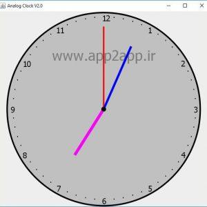دانلود سورس پروژه ساعت آنالوگ با جاوا